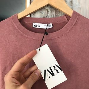 Zara Pink Sweater